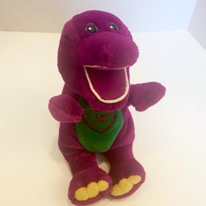 Vintage Singing Barney Plush